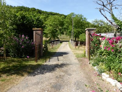 Photo for Giverny-Vernon: spacious listed property of 3000 sqm in the valley. Quiet garden