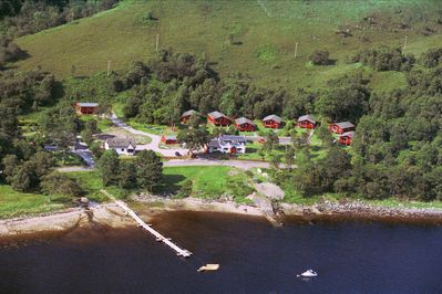 Aerial Picture of Cottage, Lodge & Chalet