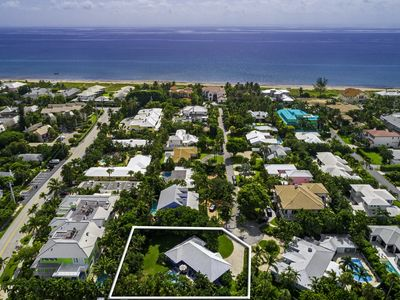 Photo for LOCATION! Luxury Beach House 1 block from beach with a heated pool and HUGE lot