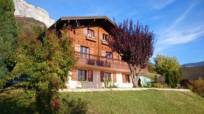 Photo for Chalet near the forest between Annecy and La Clusaz
