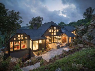 Photo for Bouldercrest at EN- Stunning home, game room, indoor and outdoor fireplaces