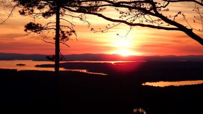 Photo for Grand View Home overlooks the lakes region, minutes to Wolfeboro!