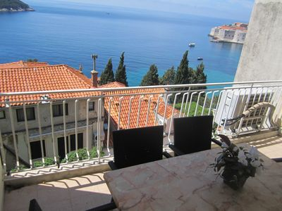 Photo for Majkovica Apartment  Sea View, 400 m from Old City Dubrovnik
