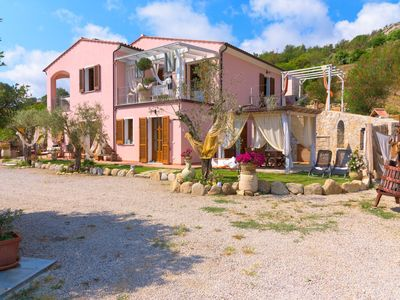 Photo for Nice and cozy studio apartment near Marina di Campo surrounded by the countryside  in a typical Elba