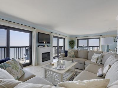 Photo for Spectacular Luxury Ocean Front Penthouse with huge 3 sided Balcony!