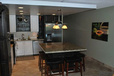 dream kitchen with all new large and small appliances