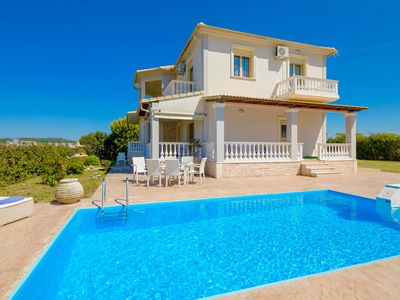 Photo for Villa Perseida with private swimming pool, 3 bedrooms, great location, free WiFi