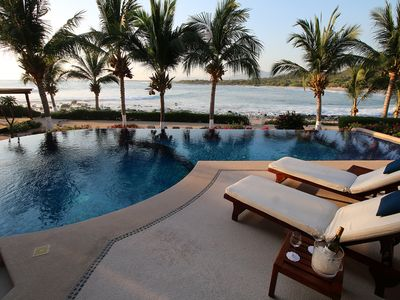 Photo for Casa Dos Peces-Spectacular Beachfront Prop. W/Panoramic  View