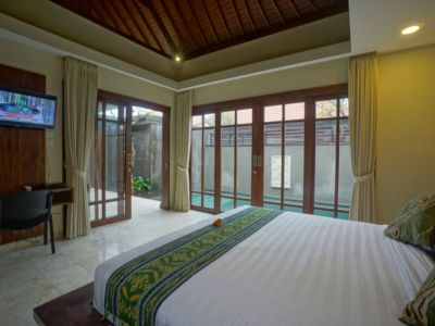 Photo for 1Bedroom Cozy Private Pool Villa in the Rice Field of Ubud