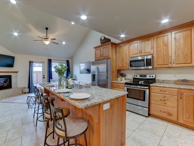 Photo for Pet friendly modern home with a great patio and lots of space to relax inside