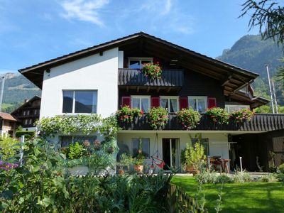 Photo for Holiday apartment Lungern for 2 - 4 persons with 2 bedrooms - Holiday apartment in a two family hous