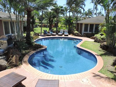 Photo for Newly Remodeled! Premier Destination in Poipu for large groups! With a pool!