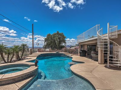 Photo for NEW! Home w/Rooftop Balcony - 4.4 to Lake Havasu!