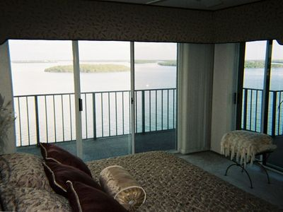 Beautiful view from the Master Suite.