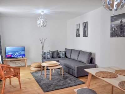 Photo for Top Spot Residence 15 apartment in Brussels Centre with WiFi & lift.