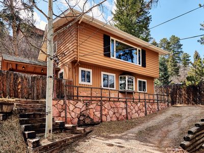 Photo for New Listing! Cozy Cabin for Family and Friends near Pikes Peak