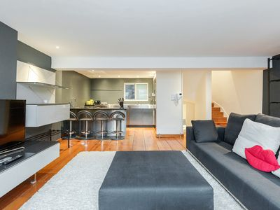 Photo for ✪ MAYFAIR 2BR Flat with Roof Terrace and Hot Tub ✪