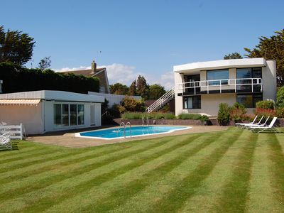 """Photo for Beach front house in East Preston, West Sussex, one of The Guardian's """"fab 50""""."""