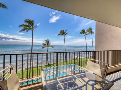 Photo for Oceanfront condo w/ a full kitchen plus a shared outdoor pool w/ views