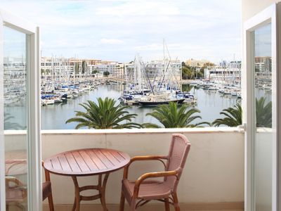 Photo for Best location! Lagos Marina view studio near beaches, restaurants, supermarkets