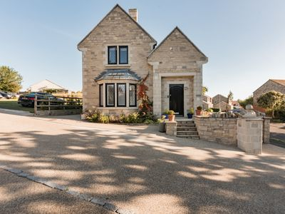 Photo for A beautifully furnished home, in Swanage with parking well equipped for children