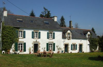 Photo for A traditional Breton Farmhouse, Cottage and converted Barn