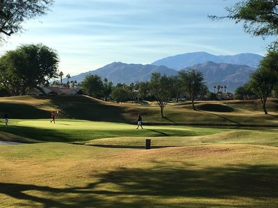 Photo for Newly decorated PGAWEST Stadium with STUNNING course, lake and Mountain View's