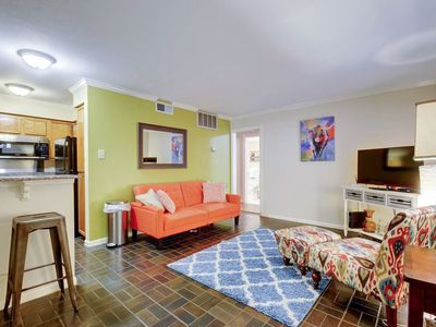 Photo for 1BR Hip Downtown Austin Condo with Pool near Convention Center