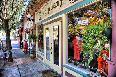 Shopping in the Bishop Arts District, just two blocks away