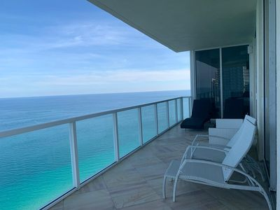 Photo for Panoramic Direct Ocean Views High end Condo