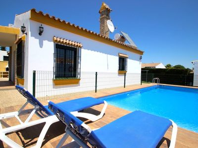 Photo for Private Pool, in Fuente del Gallo, with aircondition and WiFi internet - Casa Francis 2 -