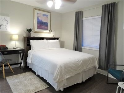Photo for UAB APT. NEWLY RENOVATED 2 MIN WALKING to Dining +MORE