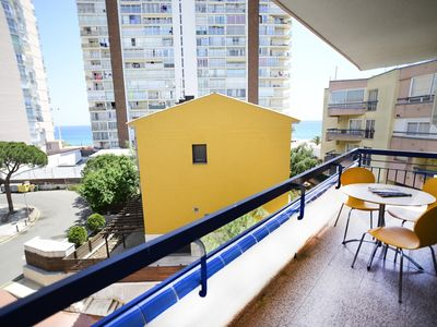 Photo for Platja d'Aro-Large apartment with terrace besides the beach