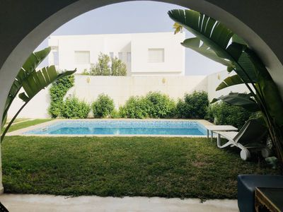 Photo for Charming villa with pool in Hammamet