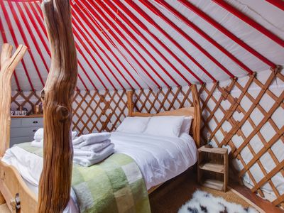 Photo for Curlew  Yurt - One Bedroom House, Sleeps 4