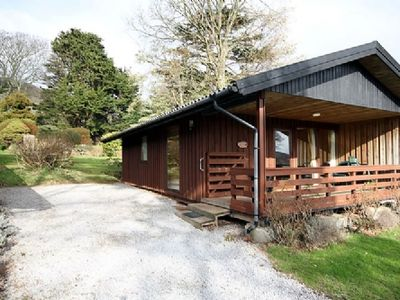 Photo for Four star Lodge with two bedrooms, fabulous views yet close to pubs and beach