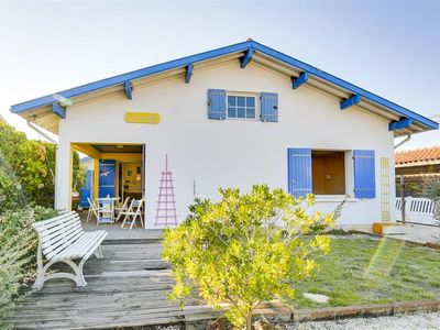 Photo for A six-person villa, 100m from the Ocean - Biscarrosse Plage