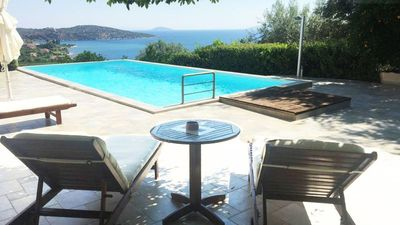 Photo for Villa with sea views and 5 bedrooms in Old Epidavros