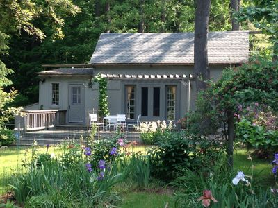 Cottage all shines in the spring
