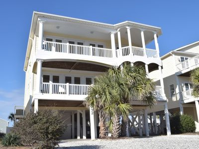 Photo for Drop Dead Gorgeous 5 Bedroom 6 Bath home Pool and 1 minute  walk to the beach
