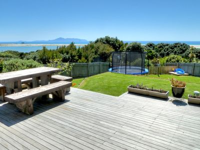 Photo for Large Cliff top family friendly home