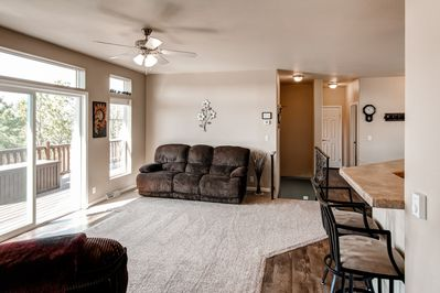 You'll love the open-concept that this home has to offer.