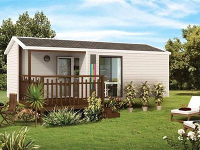 Photo for Camping Kerlaz *** - Mobil home Malaga compact 3 rooms 4 persons