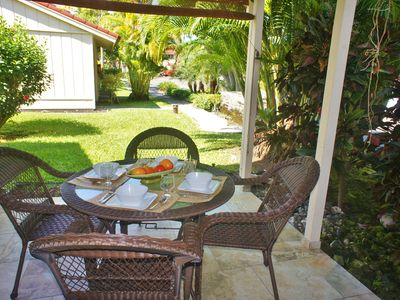 Photo for 150 Steps from Lanai to Beach | AC | WIFI | Affordable | Starts at $95/night