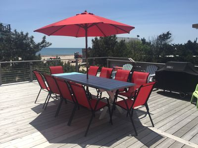 Photo for Fire Island Newly Renovated Beach House Just steps away from the Ocean!!!