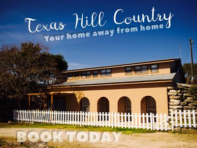 Photo for Wedding Venue Accommodations/Hill Country Getaway