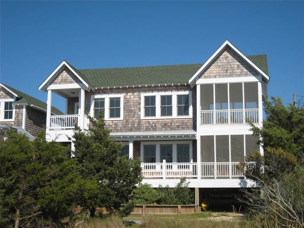 Sounds perfect located on pamlico sound wi vrbo for Ocracoke cabin rentals