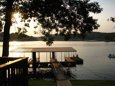 Watch the sunrise from the deck or sit on the swim platform