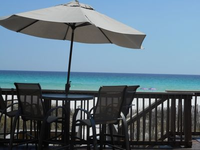 Photo for VACATION ON A PRIVATE BEACH IN DESTIN! HUGE 3000SQ' 4 BR, 3.5B  INSTANT BOOKING!
