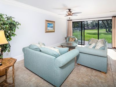Photo for Beautiful 2 bedroom 2 bathroom condo overlooking Fazio Golf Course.